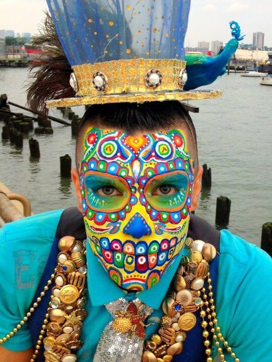 day of the dead makeup 13 (1)
