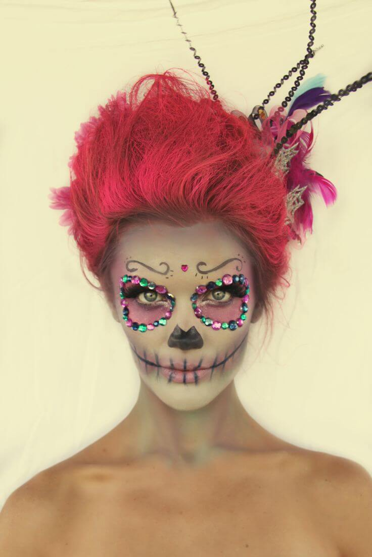 day of the dead makeup 14 (1)