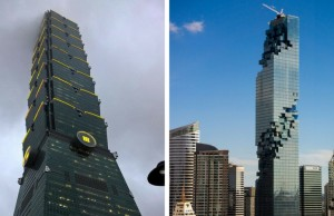 evil buildings feat