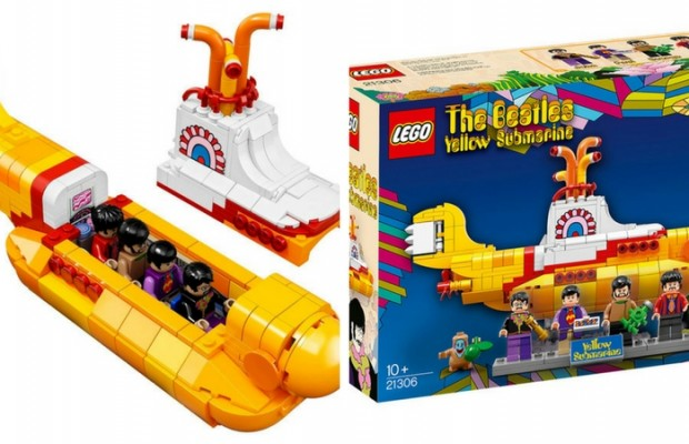 lego yellow submarine feat