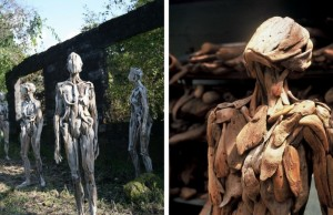 nagato driftwood sculptures feat