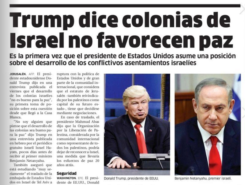 paper publish pic of alec baldwin instead of donald trump