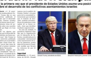 paper run wrong picture of donald trump feat