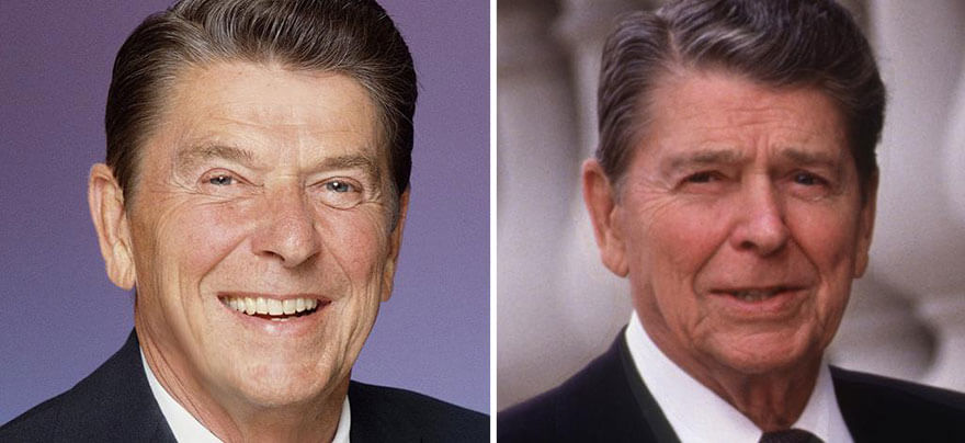 10 Presidents Before And After Photos That Prove Being ...
