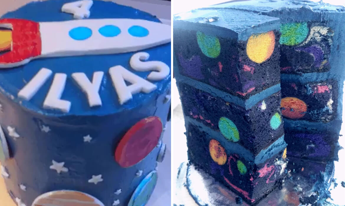 space themed cake (1)
