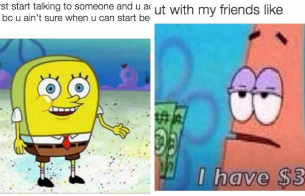 spongebob memes feat