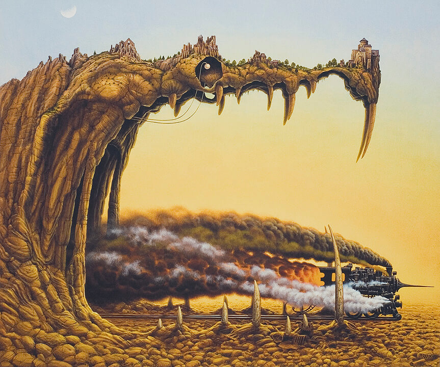surreal paintings jacek yerka (1)