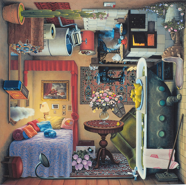 surreal paintings jacek yerka 10 (1)