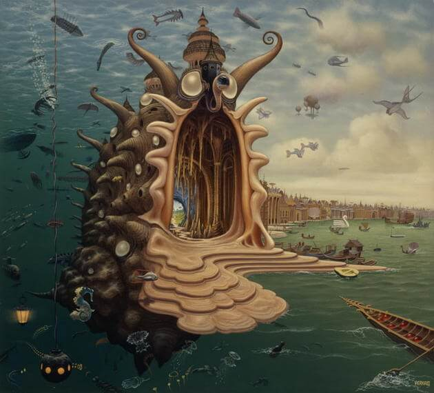 surreal paintings jacek yerka 15 (1)