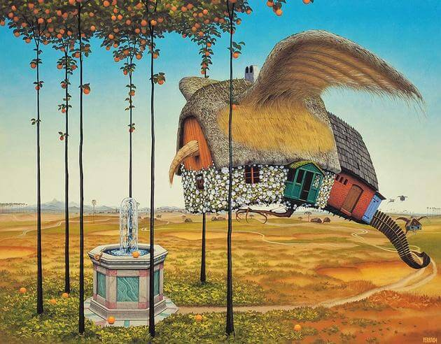 surreal paintings jacek yerka 20 (1)