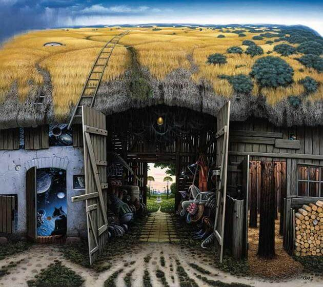 surreal paintings jacek yerka 23 (1)