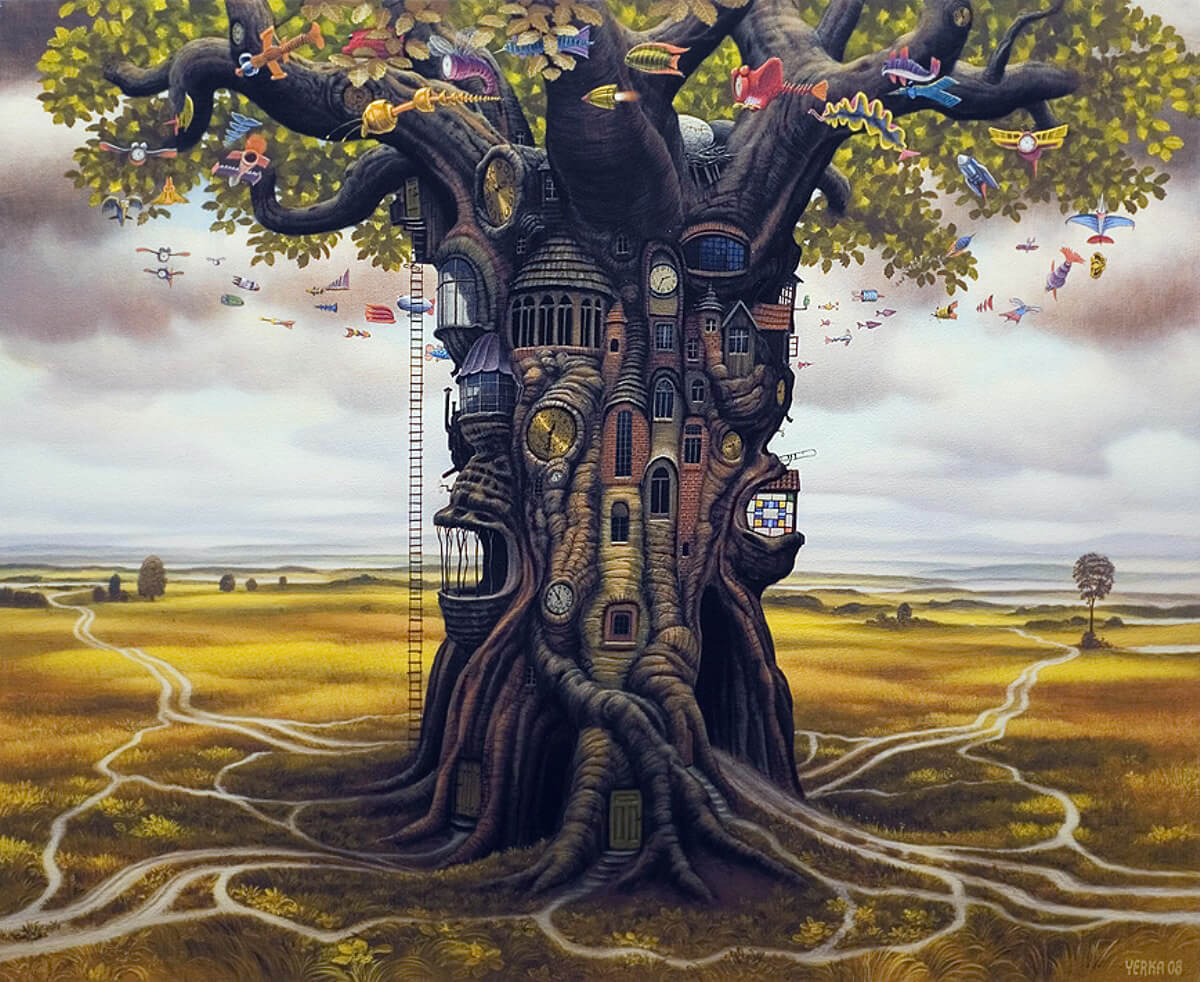 Stunning Surreal Paintings By Jacek Yerka Will Play Tricks ...