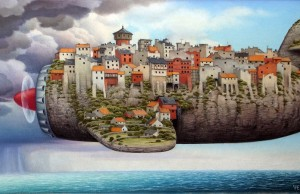 surreal paintings jacek yerka feat