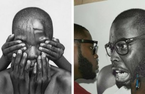 arinze stanley pencil portraits feat