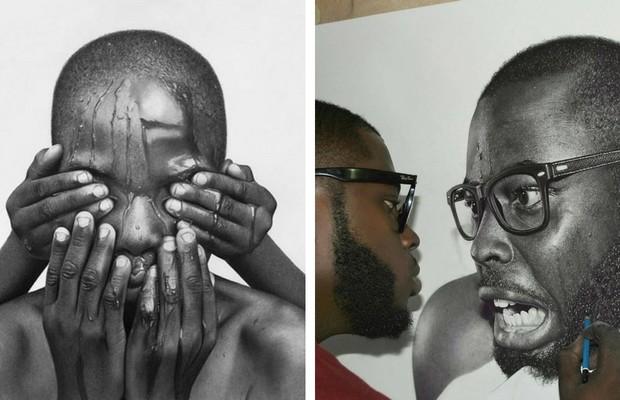arinze stanley pencil portraits feat