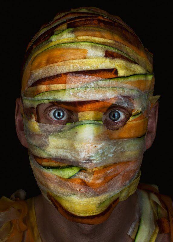 chef wearing food portraits 2 (1)