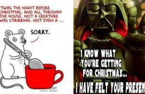 christmas puns feat