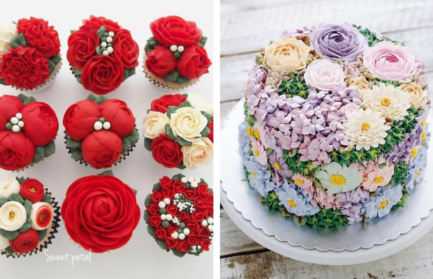 30 beautiful flower cakes to celebrate spring in the most yummy way mightylinksfo