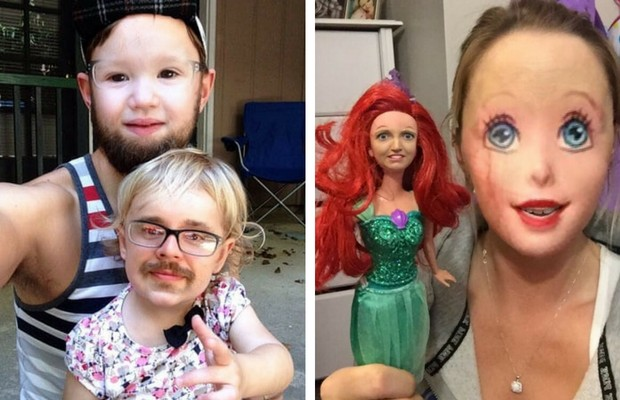 funny face swaps feat
