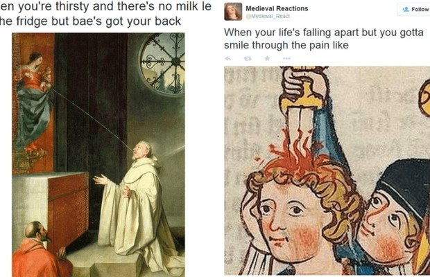 funny medieval art feat
