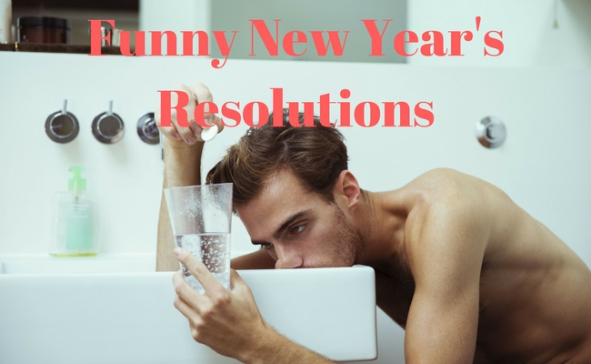 funny new years resolutions feat