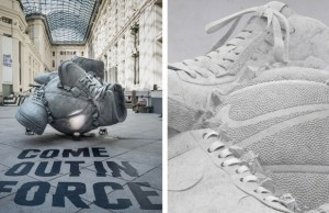 shane griffin nike sculpture good feat