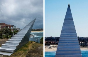 stairway to heaven sculpture feat
