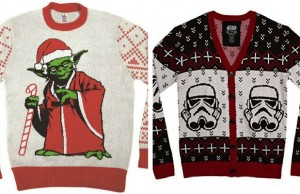 star wars christmas sweaters feat
