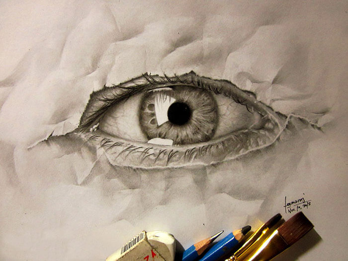 3D Pencil Illustrations jerameel lu 3 (1)