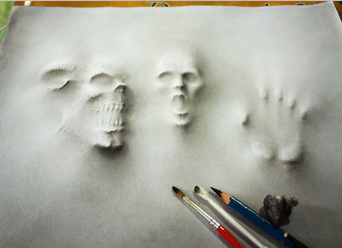 3D Pencil Illustrations jerameel lu 6 (1)