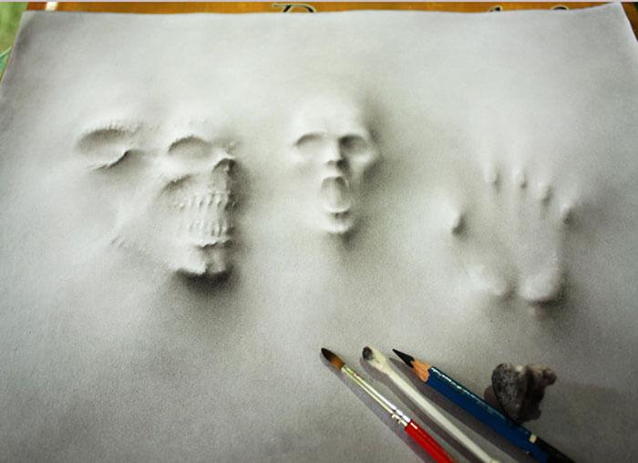 3D Pencil Illustrations jerameel lu 6 (1)