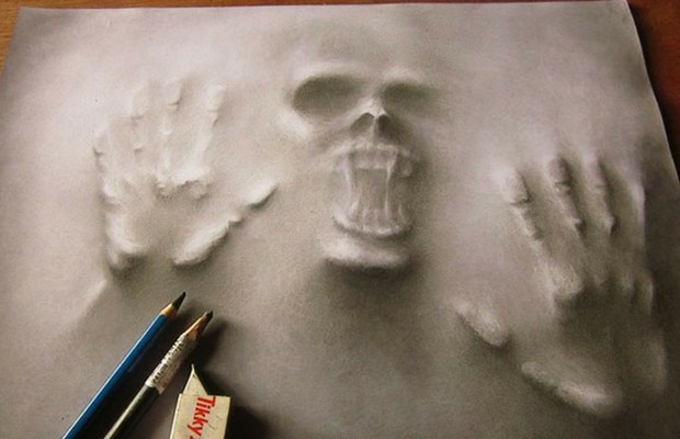 3d pencil illustrations jerameel lu feat