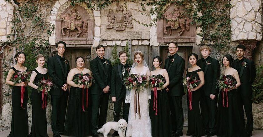 Harry Potter-Themed Wedding 11 (1)