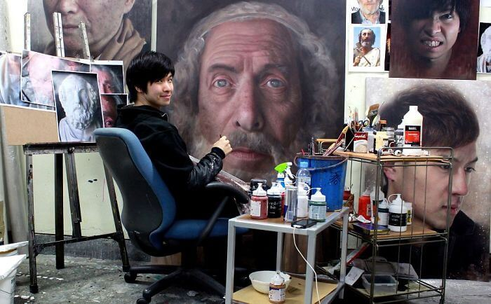 Joongwon Jeong hyper realistic paintings 8 (1)