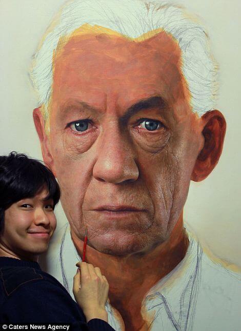 Joongwon Jeong hyper realistic paintings 9 (1)