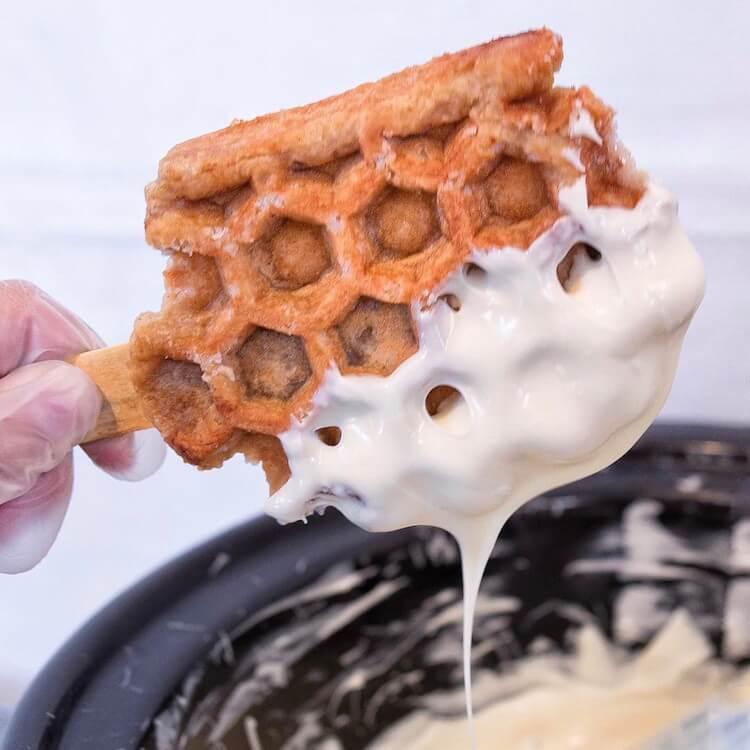 Waffle treat 12