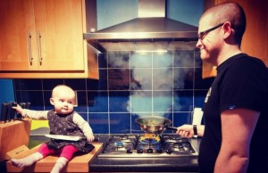 dad photoshops his daughter into dangerous situations feat