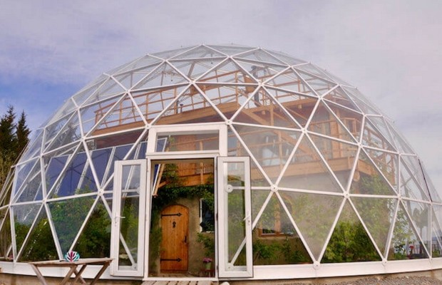 geo dome house feat