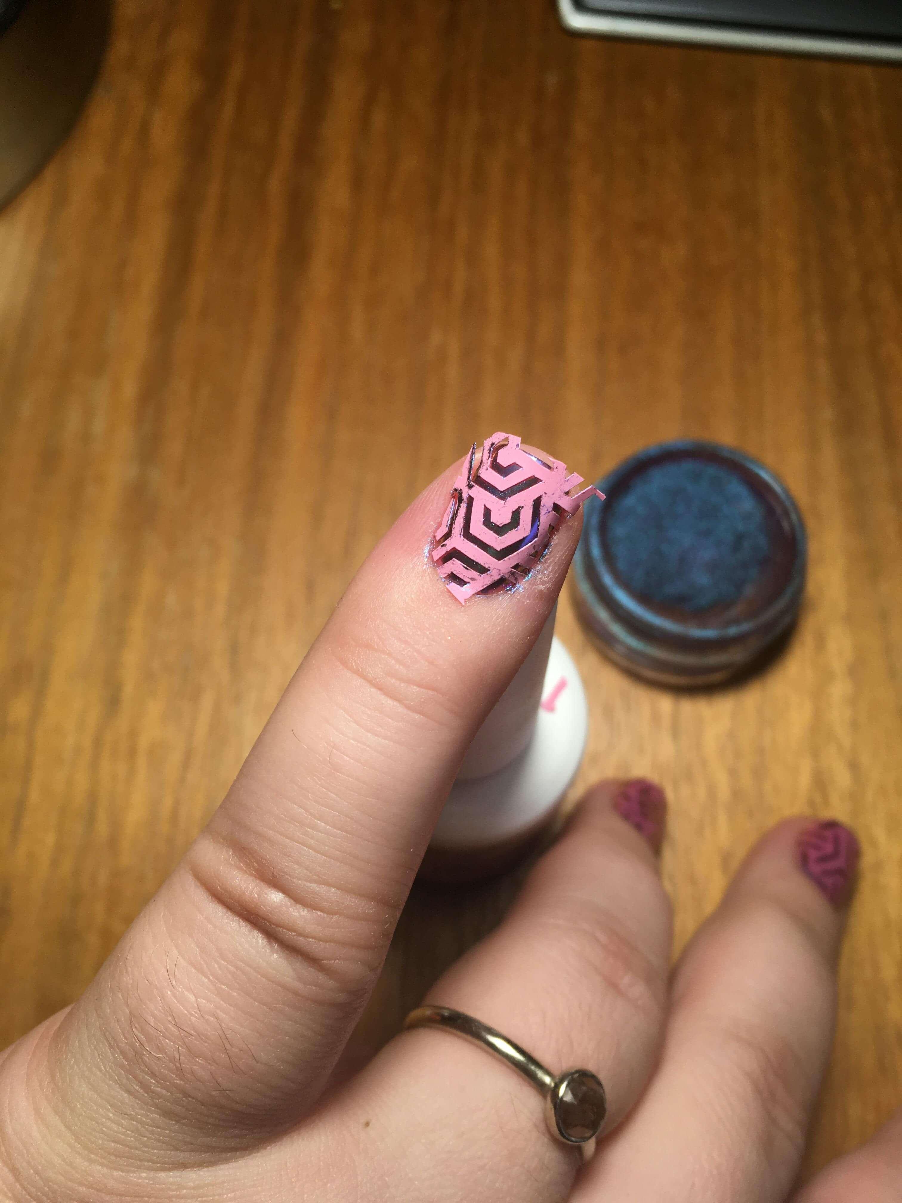 geometric nails art 7 (1)