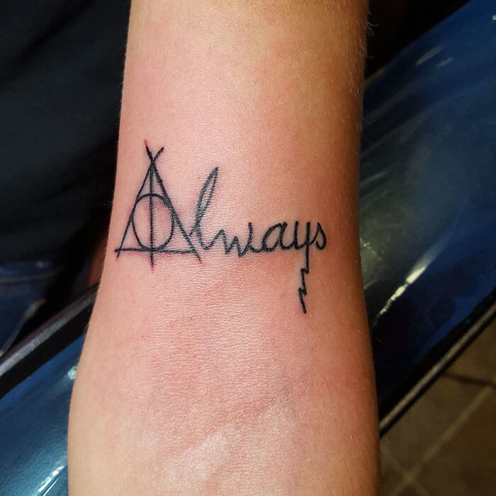 52 harry potter tattoos that are so cool theyre magical