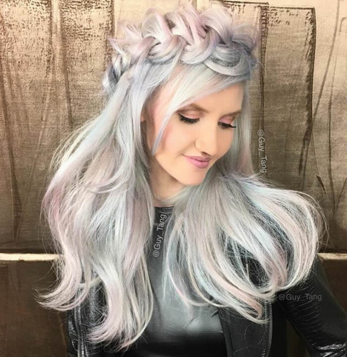 36 Beautiful Holographic Hair Trend Pictures That Are So