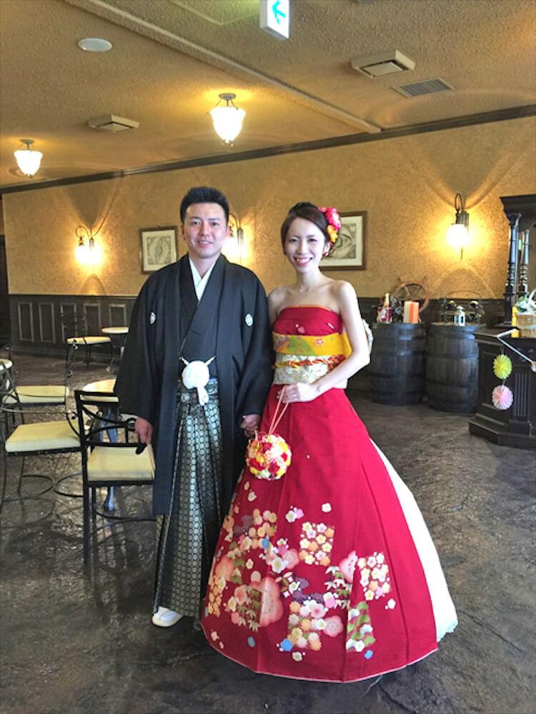 kimono short sleeve wedding dress 11 (1)