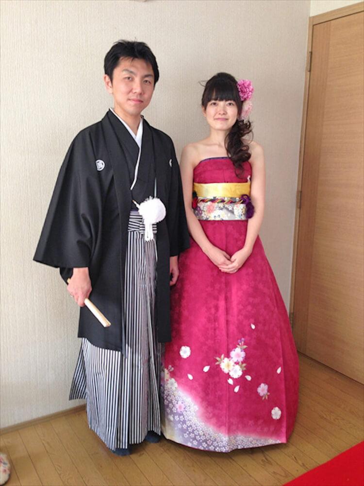 kimono short sleeve wedding dress 14 (1)