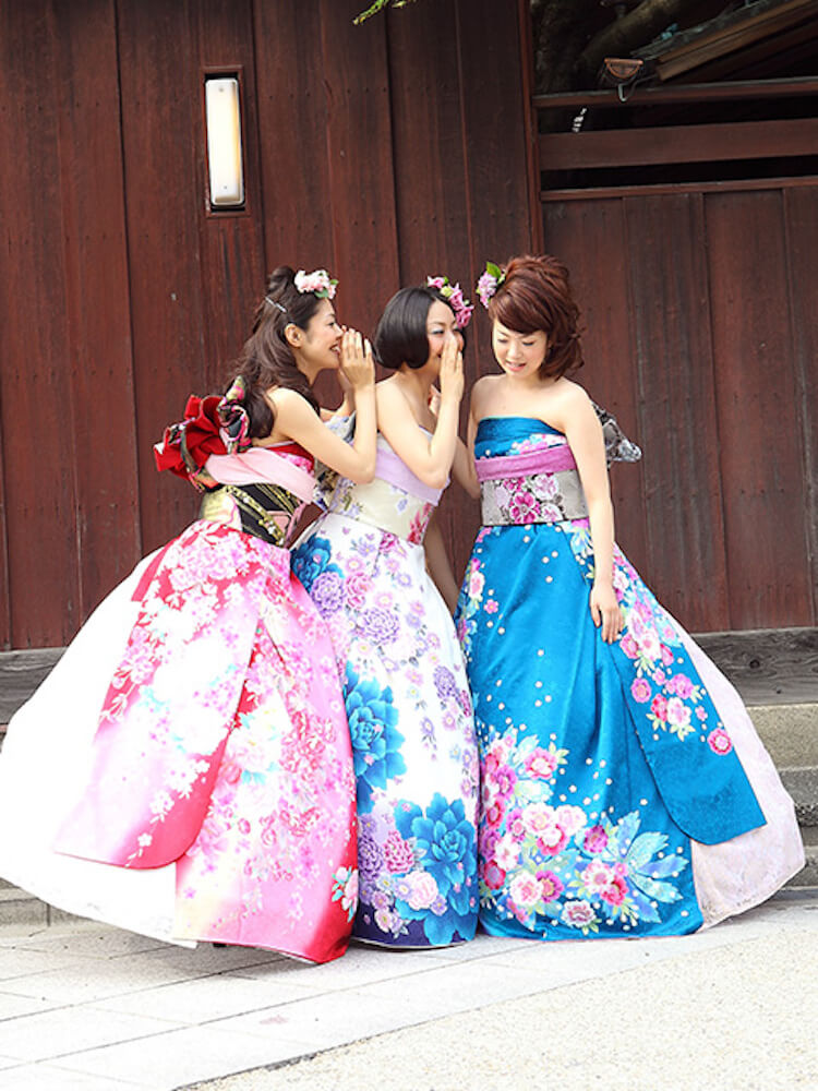 kimono short sleeve wedding dress 4 (1)