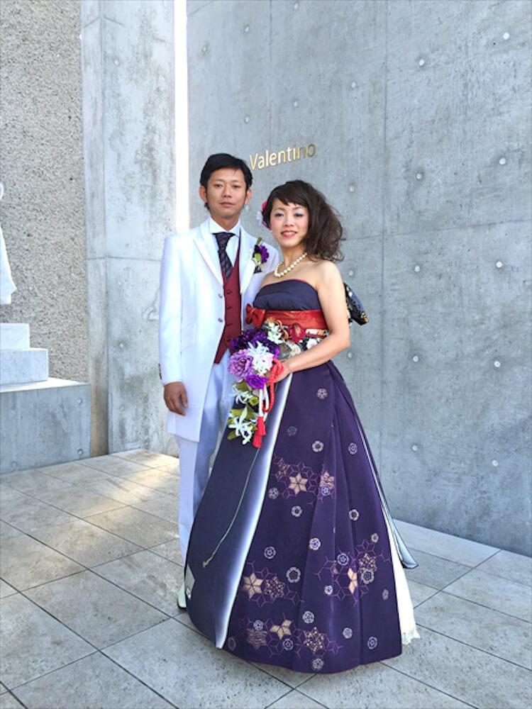 kimono short sleeve wedding dress 6 (1)