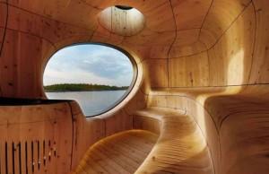 lakeside sauna feat