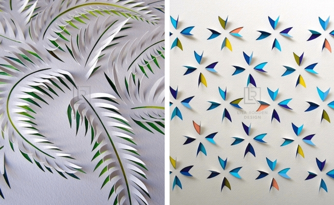 Lisa Rodden Paper Art Creations Are Detailed Work Of Cutting,Slicing And Folding Layers Of Paper