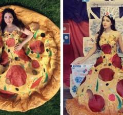 pizza dress feat