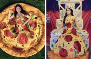 pizza dress feat