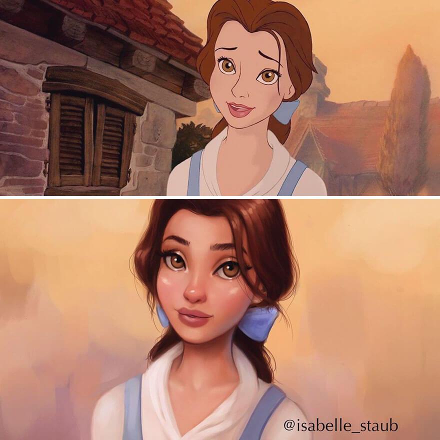 realistic disney princesses 3 (1)